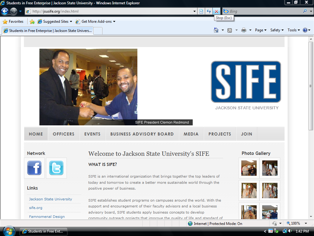 Jackson State University's Students in Free Enterprise